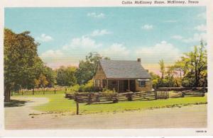 Texas McKinney Collin McKinney Home Curteich