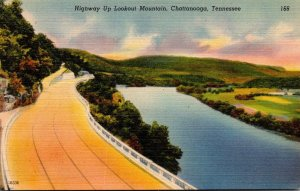 Tennessee Chattanooga Highway Up Lookout Mountain