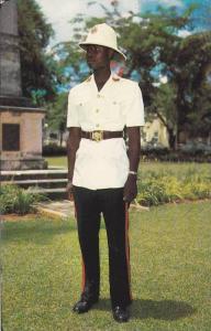 Policeman , Nassau , Bahamas , PU-1955