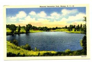 NY - Malone. Memorial Recreation Park