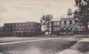 Maine Springville Nasson College Artvue
