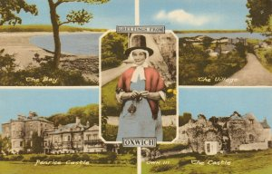 Vintage 1972 Multi View Postcard, Greetings from Oxwich, South Wales 71Z