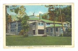 The Anderson Auditorium, Presbyterian Assembly Grounds, Montreat, North Carol...
