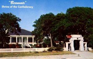 MS - Biloxi. Beauvoir, Jefferson Davis Home