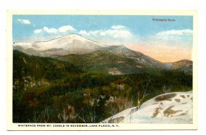 NY - Lake Placid. Whiteface from Mt. Cobble & Wilmington Notch