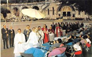 France Lourdes The Blessing of the Sick, Benediction des Malades