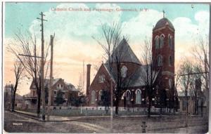 Catholic Church and Parsonage, Greenwich NY