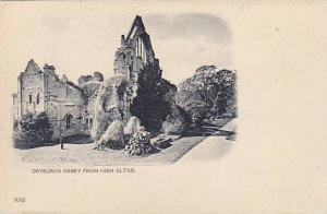 Dryburgh Abbey From High Altar, Scotland, UK, 1900-1910s