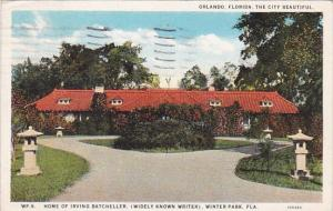 Florida Orlando Florida The City Beautiful Home Of Irving Batcheller 1927