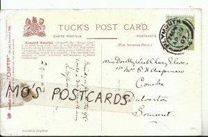 Genealogy Postcard - Eleves - Combe - Dulverton - Somerset - Ref 8410A