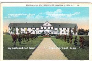 Lincoln Baths, Saratoga Springs NY