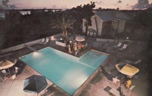 Pembroke Bermuda Sunset Rosemont Guest House Swimming Pool 1960s Postcard