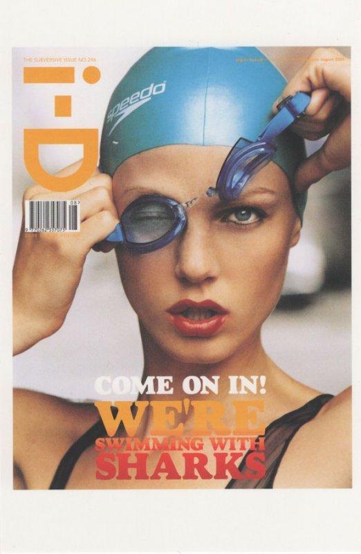 Angela Lindvall Supermodel 2004 Magazine Covergirl Postcard