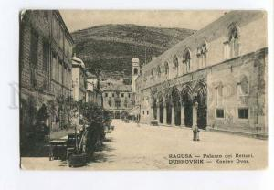 262197 Croatia DUBROVNIK RAGUSA Palace of Rectors Vintage PC