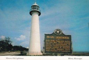 BILOXI, Mississippi,1950-60s; Historic Old Lighthouse