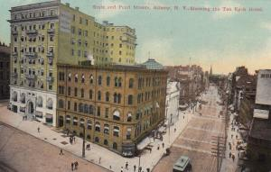 ALBANY, New York, 00-10s; State & Pearl Street, Ten Eyck Hotel