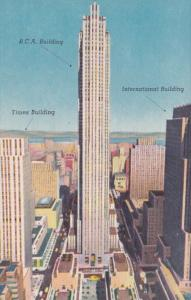 New York City Times R C A and International Buildings