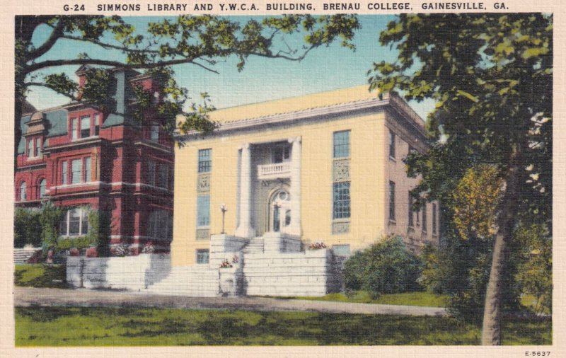 GAINESVILLE , Georgia , 1930-40s ; Simmons Library