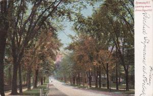 New York Syracuse Looking Down James Street Hill 1905