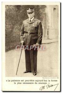 Old Postcard Petain