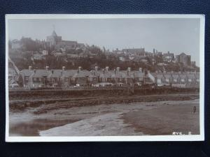 Sussex RYE Town View & Estuary - Old RP Postcard