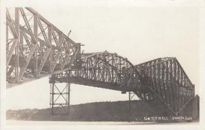 RP: Quebec bridge construction , Lifting Center Span , 1910s #1