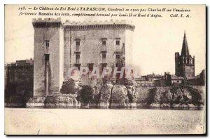 Postcard Old Chateau du Roi Rene in Tarascon