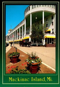 Michigan Mackinac Island The Grand Hotel