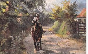 TUCK ; Harry Payne ; Going to work , Man on horse , 00-10s
