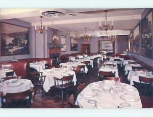 Unused Pre-1980 BILLY MARTIN'S CARRIAGE HOUSE RESTAURANT Georgetown DC v7020