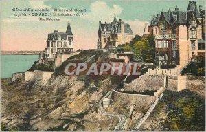 Postcard Old Emerald Coast Dinard La Malouine