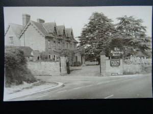 Cheshire THE SANDIWAY HOTEL - Old RP Postcard