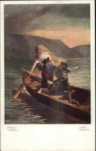 Rhine River Maiden Pichon Lorelei NEUBERT c1910 Postcard