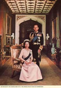 Queen Elizabeth II & Prince Philip, Duke of Edinburgh