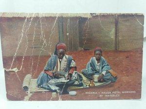 Nigeria - Metal Workers at Wembley Rare  Vintage Tucks Postcard