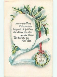 Divided-Back CHRISTMAS SCENE Great Postcard AA0166