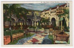 Hershey, Pa, The Patio of Hotel Hershey
