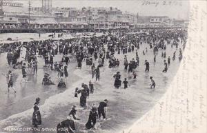 New Jersey Atlantic City The Bathing Hour 1906