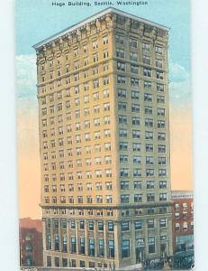 Unused Divided-Back HOGE BUILDING Seattle Washington WA G1289