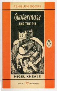 Quatermass & The Pit Nigel Kneale of Hammer Film 1960 Book Postcard