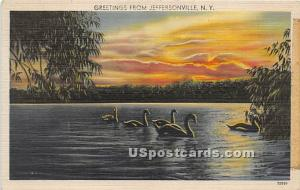 Greetings from Jeffersonville NY 1944