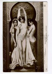 264134 NUDE Odalisque BELLE Sultaness HAREM by CORABCEUF old