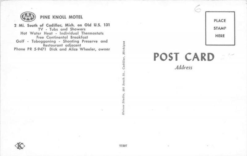 4520  MI Cadillac    Pine Knoll Motel