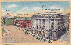 Rhode Island Providence Capitol U S Post Office Annex U S Post Office Court H...