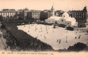 Vue General de la Place du Gonvernement,Algiers,Algeria