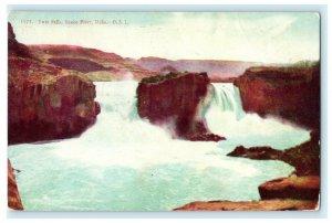 Twin Falls Snake River Idaho OSL Ogden Utah Vintage Antique Postcard