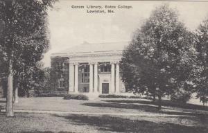 LEWISTON , Maine, 1941 , Coram Library , Bates College