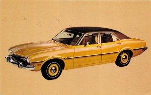 1973 Ford Maverick 4-Door Sedan Unused Advertising Postcard