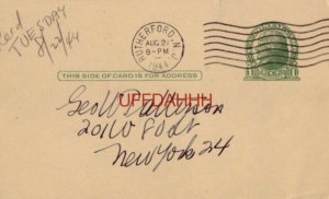 PUT YOUR DUPLICATES TO WORK, W. O. STAEB, RUTHERFORD STAMP CLUB, NEW JERSEY 1944