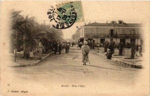 CPA AK Geiser 15; Arzew- Rue d'Isly, ALGERIE (765089)